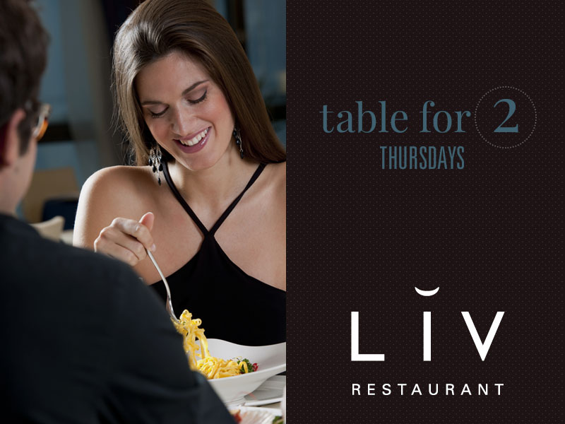 romance at LIV Restaurant