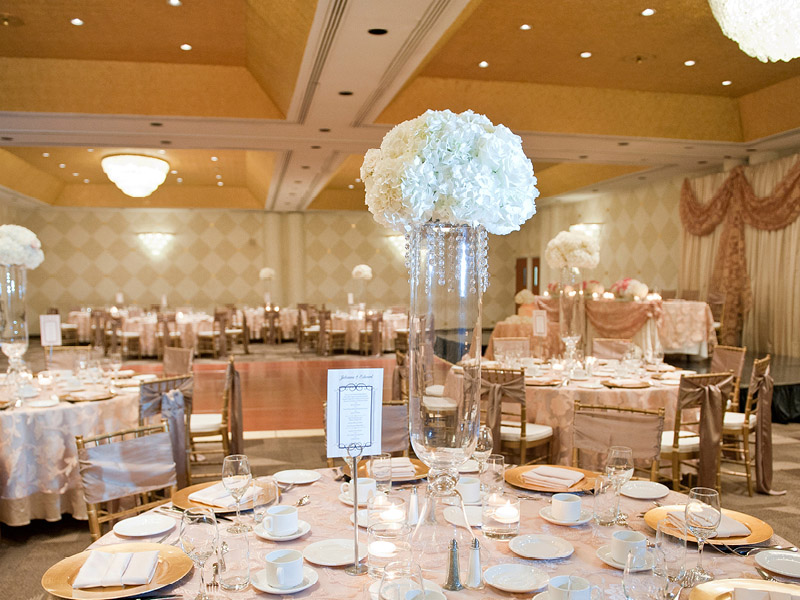 fancy ballroom wedding niagara