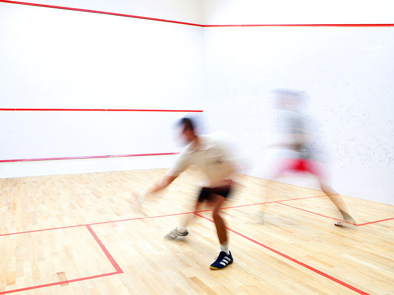 squash courts and leagues at White Oaks