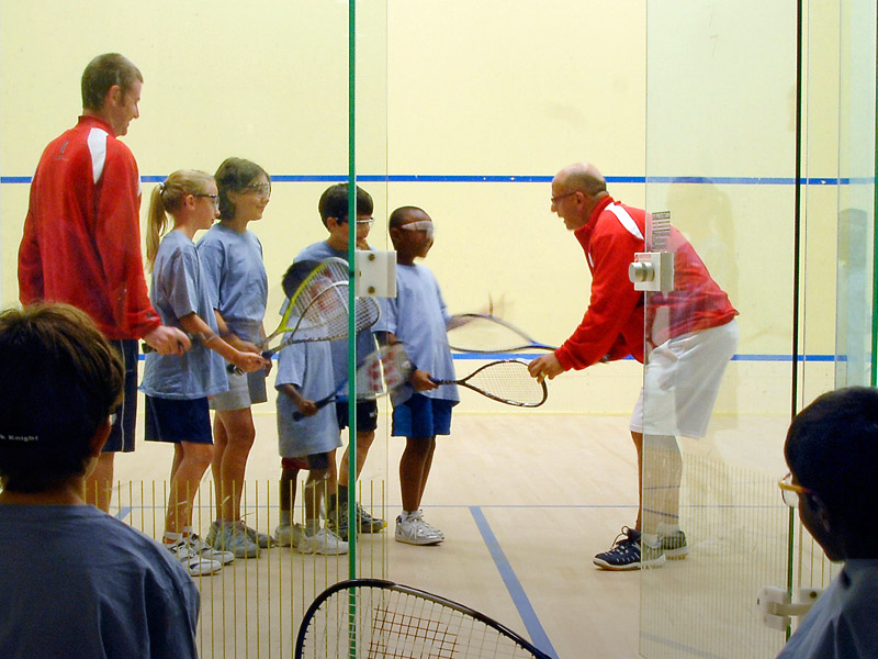 junior squash at White Oaks