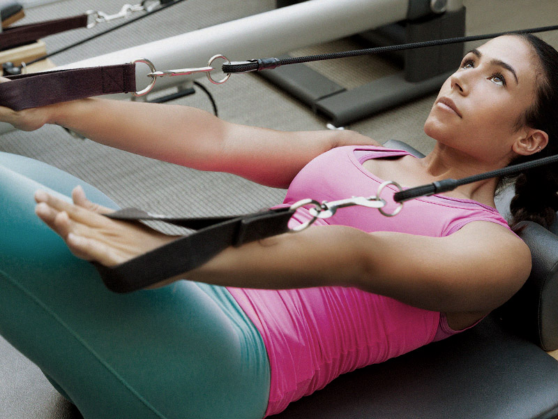 reformer pilates at The Club